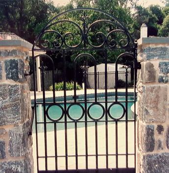 Iron Gate for Pool